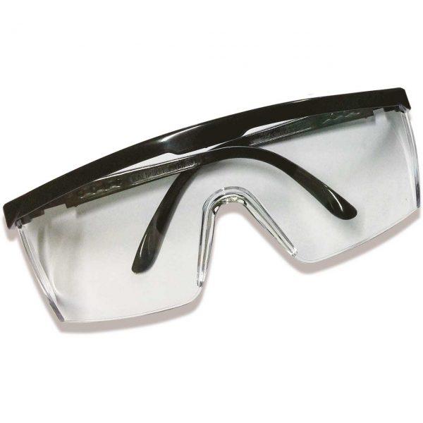 Óculos de proteção hastes ajustáveis