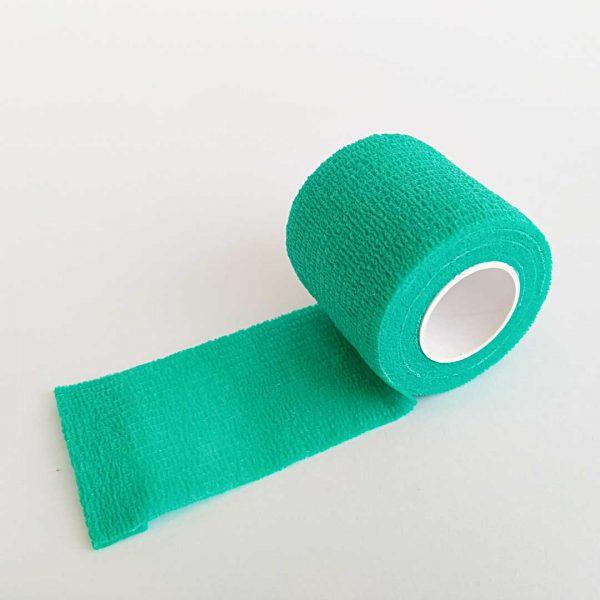 Bandagem Elástica Autoaderente 50mm verde