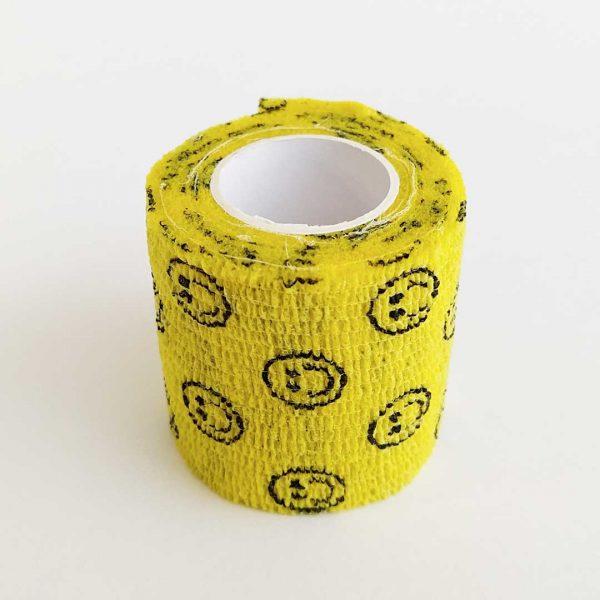 Bandagem Elástica Autoaderente 50mm bege
