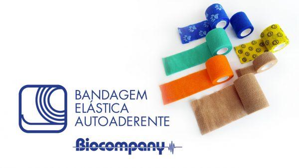 Bandagem Elástica Autoaderente Biocompany